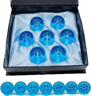 Angelaicos Unisex Stars Acrylic Transparent Play Balls 7pcs