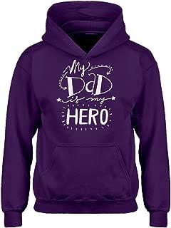 My Dad is My Hero Hoodie for Kids