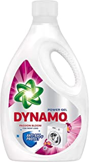 Dynamo Power Gel Concentrated Liquid Detergent Passion Bloom, 2.7kg