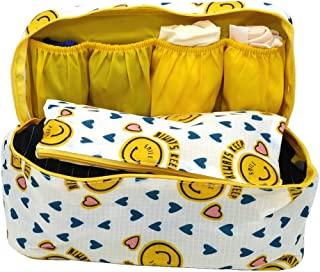 XINING Underwear Bra Storage Bag Portable Travel Pouch Toiletry Organizer Handbag Cosmetic Makeup Bag Luggage Storage Case