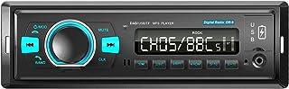 ANKEWAY 2021 Nuevo Dab/Dab+ Radio Coche Bluetooth 5.0 Llamadas Manos Libres y Mando a Distancia del Volante Externo, FM Ra...