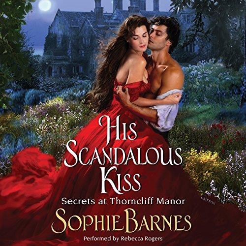His Scandalous Kiss audiobook cover art
