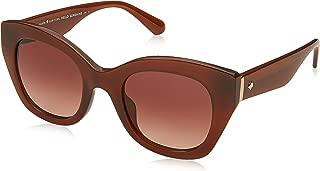 Women's Jalena/s Cateye Sunglasses, YELLOW, 49 mm