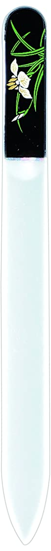 破滅先のことを考えるモニター橋本漆芸 ブラジェク製高級爪ヤスリ 五月 菖蒲 紙箱
