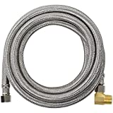 Certified Appliance Accessories Dishwasher Hose with 90 Degree MIP Elbow, Water Supply Line, 10 Feet, PVC Core...