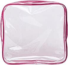 Veriya Lot de 3 Trousses de Maquillage Transparentes pour Voyage Femmes Trousse de Toilette pour Filles Usage Quotidien Voyages