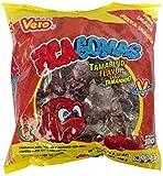 Pica Gomas Tamarindo Bolsa de 100