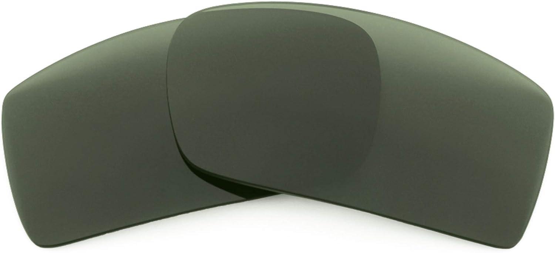 Revant Verres de Rechange pour Wiley X Peak - Compatibles avec les Lunettes de Soleil Wiley X Peak Gris Vert - Non Polarisés