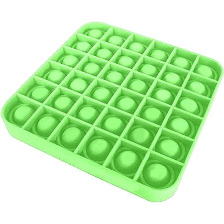 Push Pop Fidget Toy Squeeze Sensory Tools to Relieve Emotional Stress for Kids Adults. Autism Special Needs Stress Reliever Purple Polygon Push Pop Bubble Fidget Sensory Toy