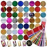 50 Diseños Pegatina Calcomanías Uñas Nail Art Stickers...