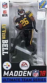 McFarlane Madden NFL 18 Le'Veon Bell Pittsburgh Steelers Chase Variant
