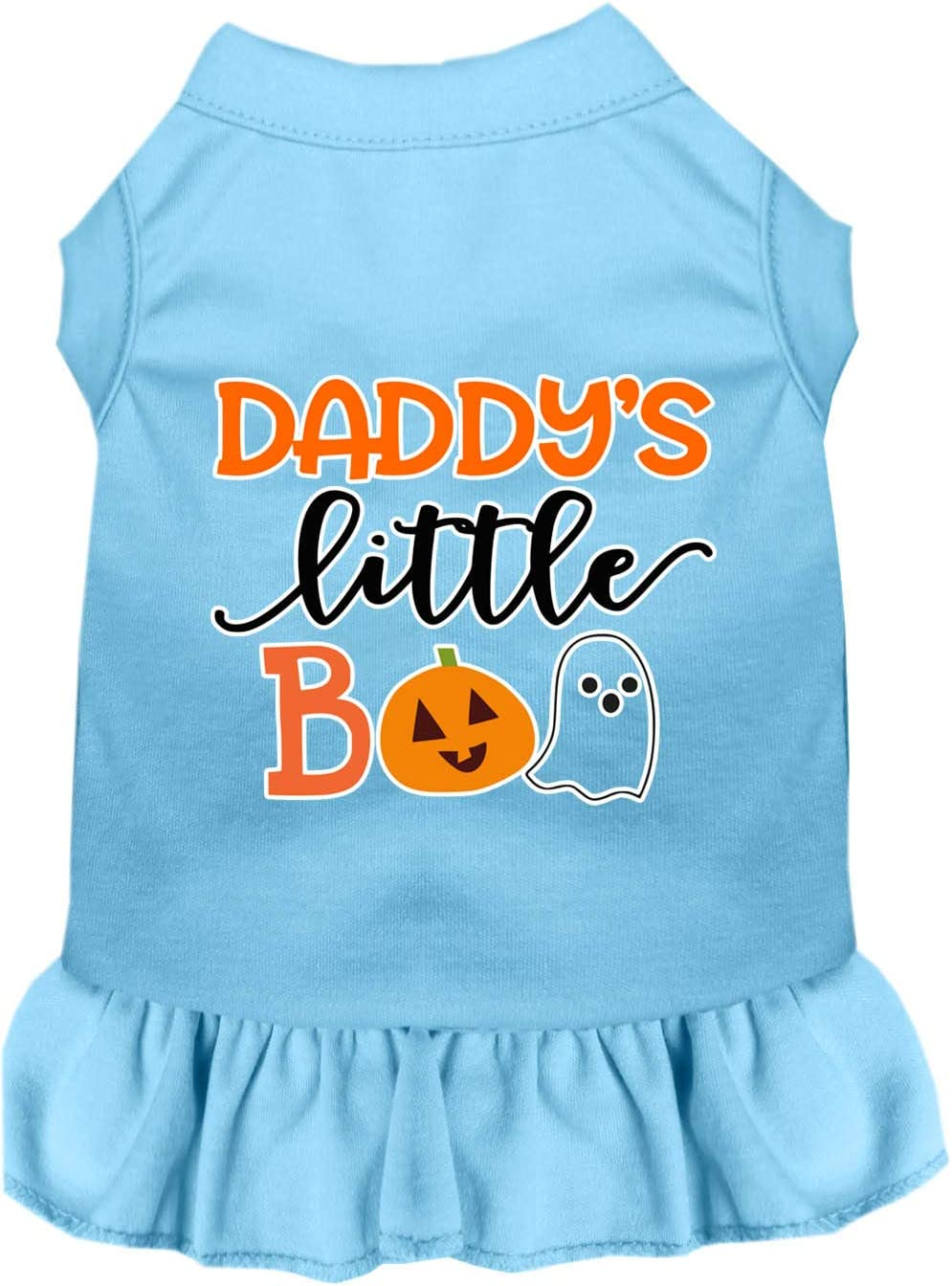 Mirage Pet Product Daddy's Little Los Angeles Mall Boo Print Dress Popularity Screen Bab Dog