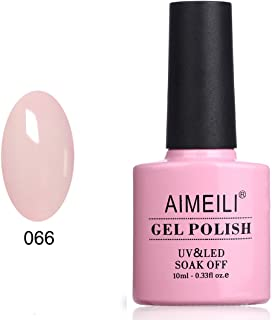AIMEILI Soak Off UV LED Gel Nail Polish Neon Glow In The Dark Range - (066) 10ml