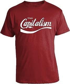 Enjoy Capitalism T-Shirt - Libertarian Shirts - Conservative Shirts