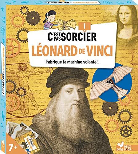 C'est pas sorcier Léonard de Vinci - boîte avec accessoires