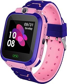 Reloj Inteligente para Niños con Posicionamiento LBS- SOS Anti-Lost Children's Smartwatch Phone Compatible para Android e ...