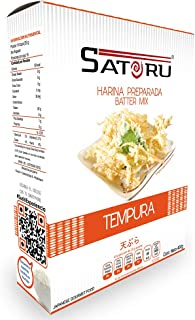 Satoru HARINA PREPARADATEMPURA, Característico harina, 400 gramos