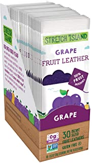 Sponsored Ad - Stretch Island Original Fruit Leather, Grape, 0.5 Ounce Leathers, 30 Count