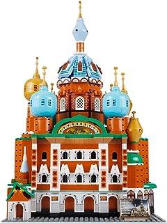 HYZM Arquitectura St. Petersburg Lglesia Set de Construcción, 1298 Piezas 1:400 Rusia Architecture Maqueta, Compatible con Lego