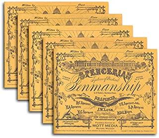 Spencerian Copybooks 1-5, Set, without Theory Book (Spencerian Penmanship)