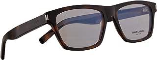 Saint Laurent SL275 Eyeglasses 56-18-145 Havana w/Demo Clear Lens 006 SL 275