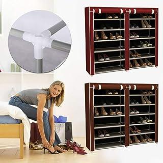 Lot de 24 paires de chaussures Armoire de rangement pour chaussures, bottes, chaussures d'hiver ou autres chaussures saiso...