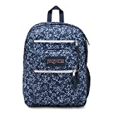 JanSport Big Student Navy Field Floral One Size