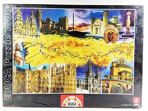Puzzles  Educa Camino De Santiago