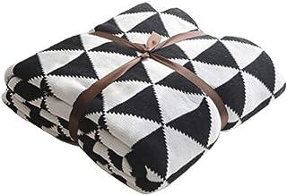 Nordic dekoracyjne koce dla dzieci pojedyncza bawełniana drzemka rekreacyjny koc dekoracyjny na sofę i łóżko 130160cm (kol...