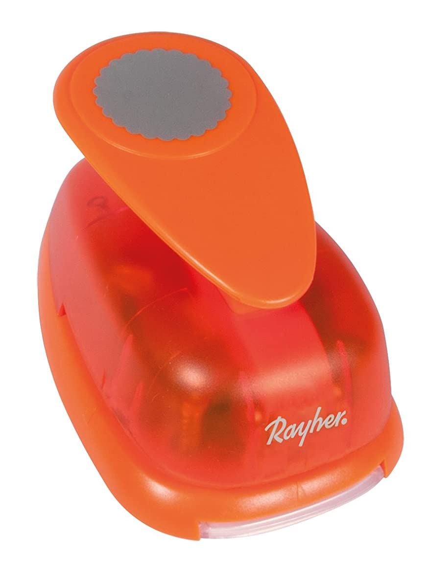 "Rayher Round Hole Punch with Scalloped Edge, 2"", 5.08 cm"