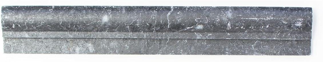 Borduurwerk marmer natuursteen zwart profiel Ogee1 Nero antiek marmer voor muur badkamer toilet douche keuken tegelspiegel...