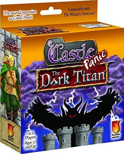 Unbekannt Fireside Games FSG01005 - Brettspiele, Castle Panic, Dark Titan