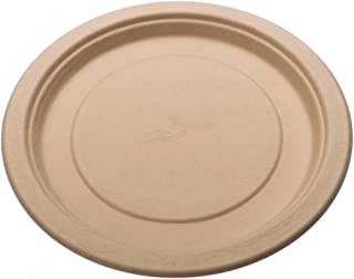 Tree Free Premium Quality Biodegradable Party Dinner Plates, 9-Inches, Bundle of 125 Plates