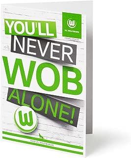 Glückwunschkarte WOB VFL Wolfsburg