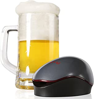 Beer Foamer, Peacher Portable Quick Automatic Sonic Beer Foamer for Can