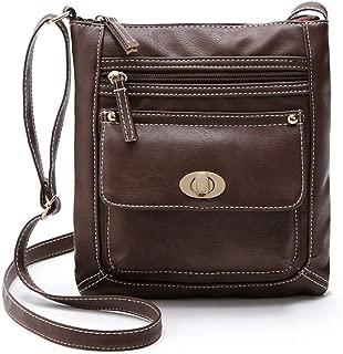 COAFIT Women's Satchel Bag Vintage Crossbody Shoulder Bag Messenger Purse