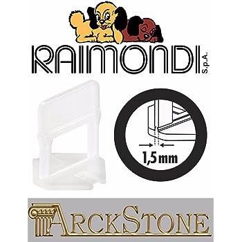 ARCKSTONE Confezione 500 basi 3D Piastrella Mattonella Pavimento Raimondi RLS