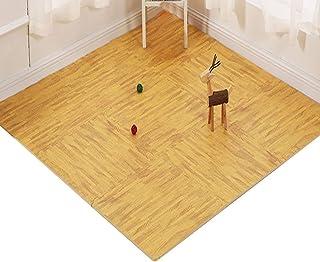 MAHFEI Interlocking Foam Floor Mats Puzzle Pad Living Room Baby Crawling Floor Protection Soft Non-slip PE Wood Texture,3 ...