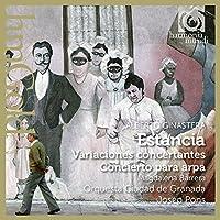 Ginastera: Estancia, Variaciones concertantes, Concierto para arpa by Orquesta Ciudad de Granada (2015-05-03)