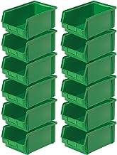 """'12X Visión Caja""""Classic Fb 3Z, medidas 350/300x 200x 145mm, contenido 8,7litros, color verde"""
