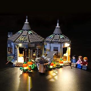 LIGHTAILING Conjunto de Luces (Harry Potter Cabaña de Hagrid Rescate de Buckbeak) Modelo de Construcción de Bloques - Kit de luz LED Compatible con Lego 75947 (NO Incluido en el Modelo)