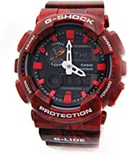 Casio G-Shock New! GAX-100MB-4A G-Lide Red Watch