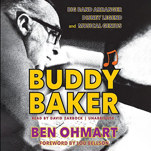 Buddy Baker audiobook cover art