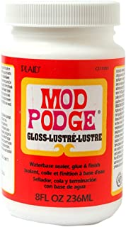 Plaid:Craft CS11201 Mod Podge All-In-One Gloss Glue Set (8 ounce)