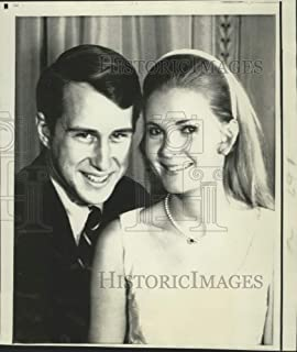 Historic Images - 1971 Press Photo Tricia Nixon and Edward Cox to Marry in White House Rose Garden