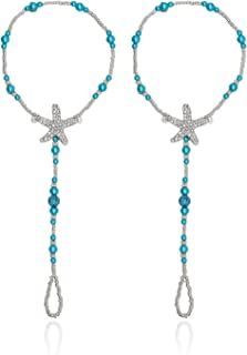 Bohemia Style Wedding Barefoot Sandals Beach Anklet Chain Foot Jewelry