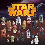 Tribe Disney Star Wars Pendrive Figur USB Stick 8GB Speicherstick Lustig USB Flash Drive 2.0, Memory Stick, USB Gadget, Schlüsselanhänger Kappenhalter – Darth Vader (Schwarz) - 8