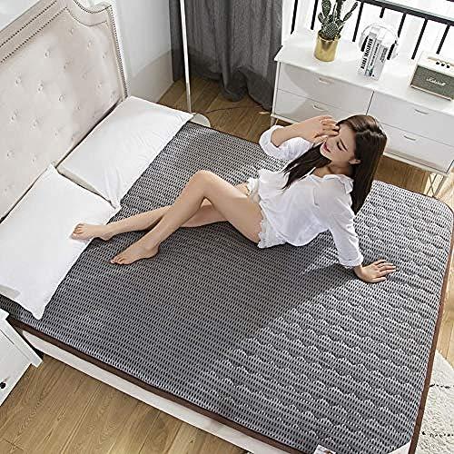 WENZHEN Colchon Gama Alta,Espesar colchón de futón de Piso japonés Transpirable Colchoneta...