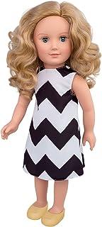 Hayati Girl Doll Sandy Weavy Dress 18 Inches