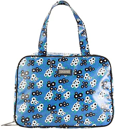 Hadaki Women s Fantasia Floral Coated Makeup Case Pod product image